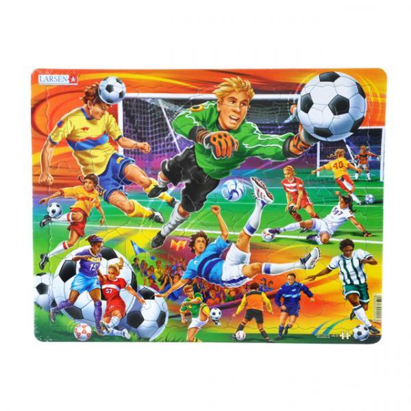 65 Parça Maxi Puzzle  : Futbol